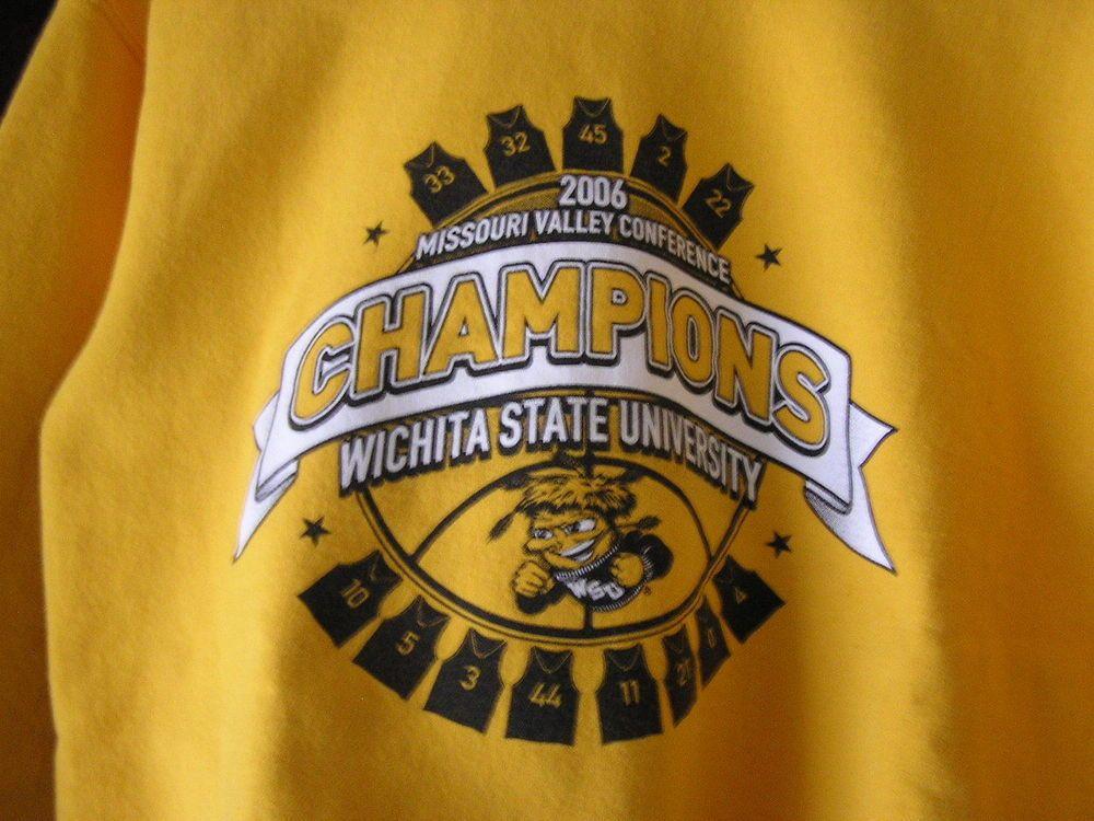 Wichita Shocker's Basketball M V C 2006 CHAMPION