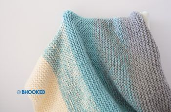 Photo of Mitt første strikkede pannebånd – gratis mønster – B.hooked Knitting
