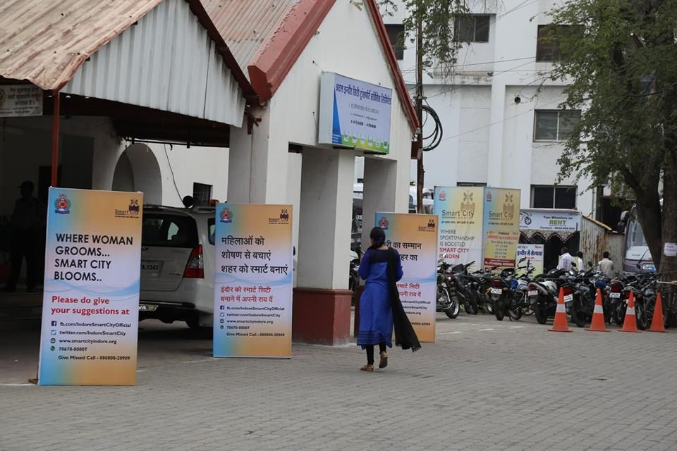 ICAI visits Indore_4 #WomenProtection #IndoreSmartCity #SmartCity #Indore