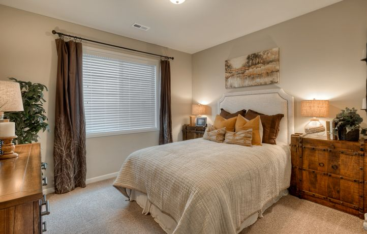 Additional bedroom in the sequoia home home new homes