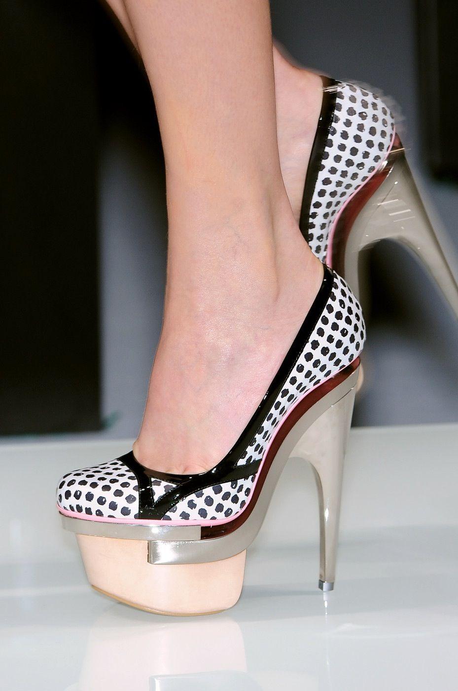 Shoe porn  Versace SS 10 details