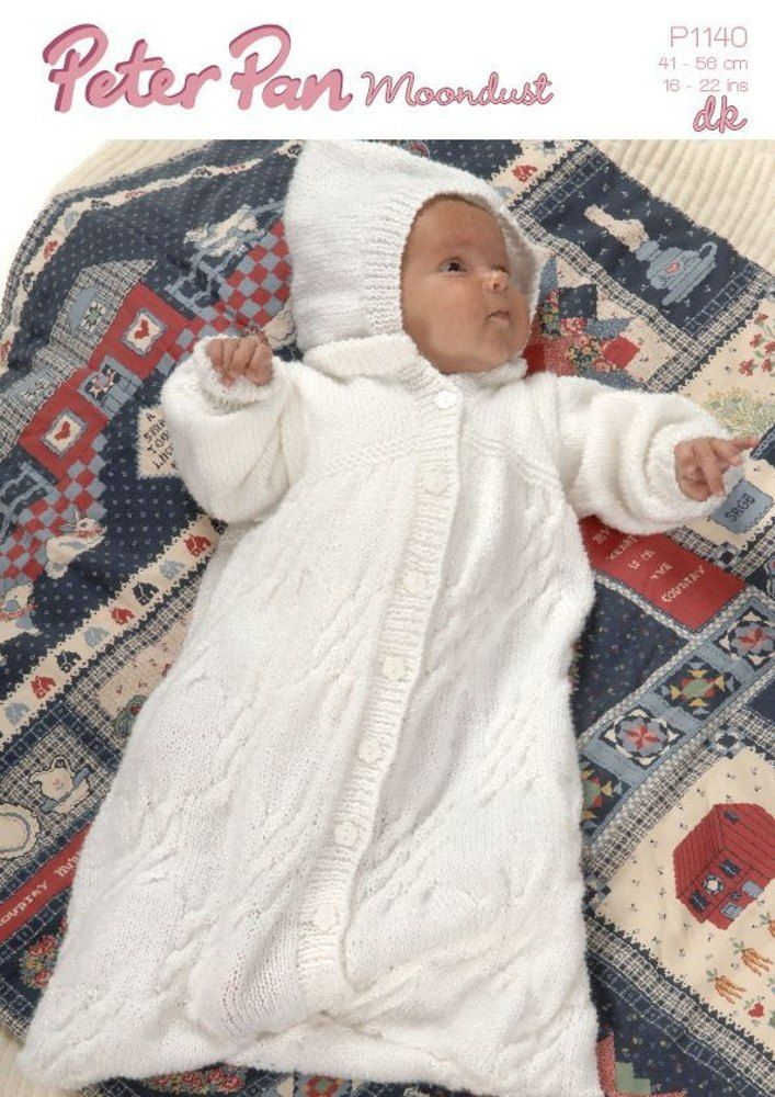 Keep babies warm from top to toe with this lovely hooded babygro ...