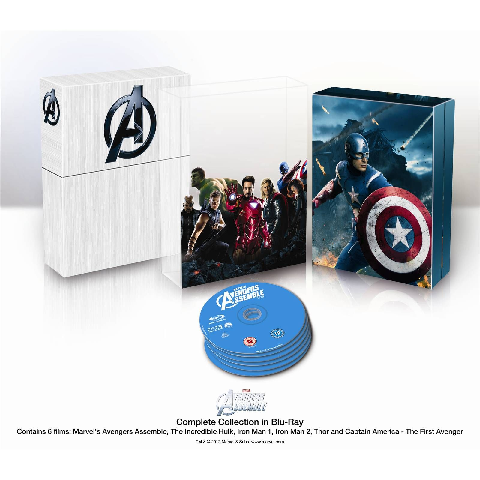 Play Com Buy Marvel S The Avengers International Collector S Box Set 6 Discs Blu Ray Online At Play Com And Re Boxset Marvel Avengers Assemble Iron Men 1