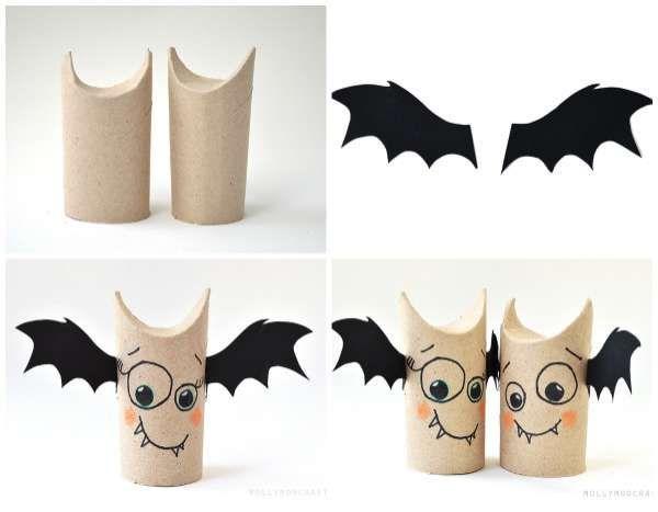 13 Bricolages Pour Halloween Avec Des Rouleaux De Papier