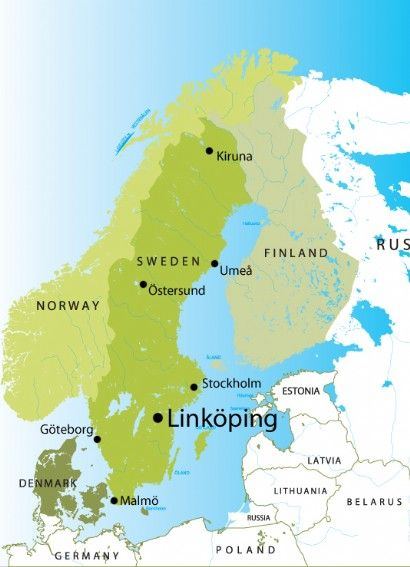 Linkoping Linkping est situ dans stergtland Environ 2 heures de