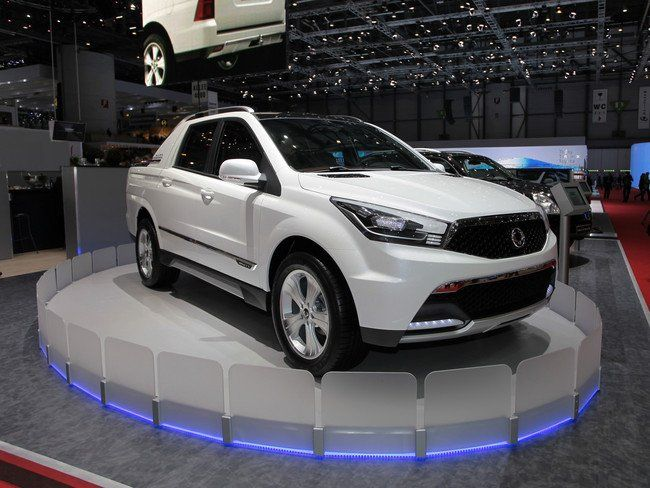 Ssang Yong SUT 1 Concept