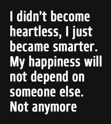 Heartless, Smarter...