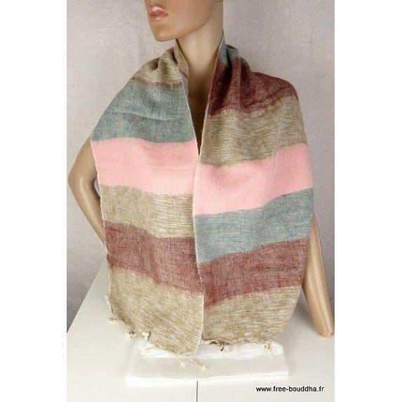 1121971cc3c laine de yack echarpe  echarpe  châle  laine  echarpelaine  chaleethnique