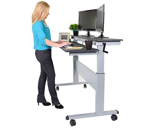 Büromöbel Stehpult Verstellbar | Schreibtisch | Pinterest