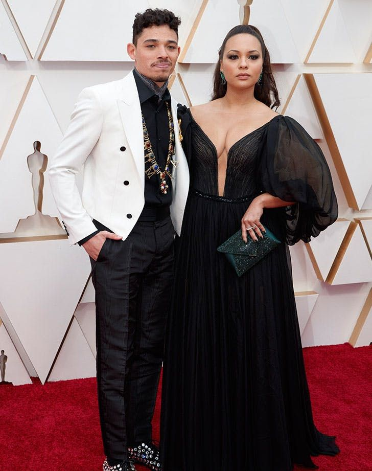 Anthony Ramos Jasmine Cephas Jones Oscars 2020 #purewow #oscars #fashion #celebritystyle #redcarpet #academyawards #entertainment #celebrity #style #celebritycouples #family