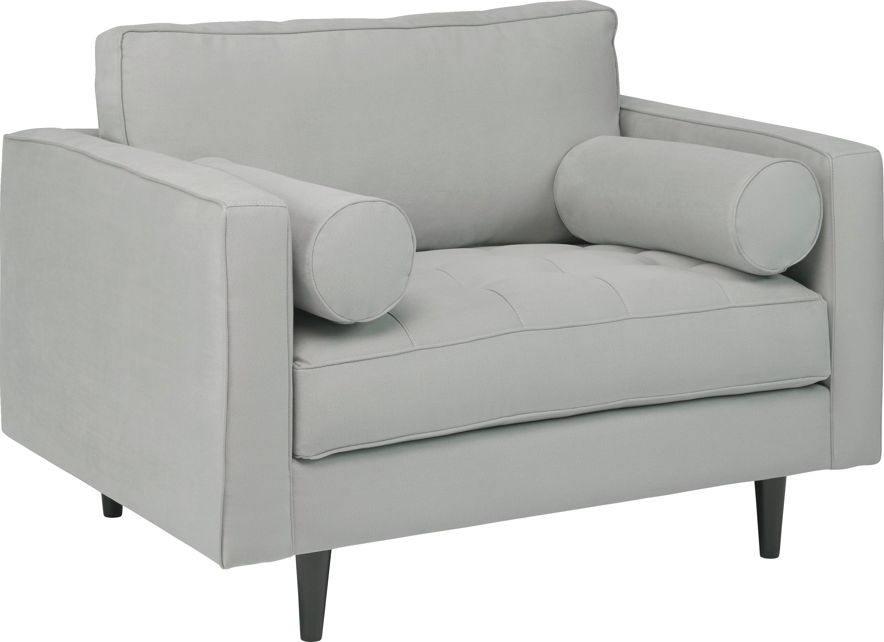 Strange Sofia Vergara Pacific Palisades Platinum Microfiber Chair In Ncnpc Chair Design For Home Ncnpcorg