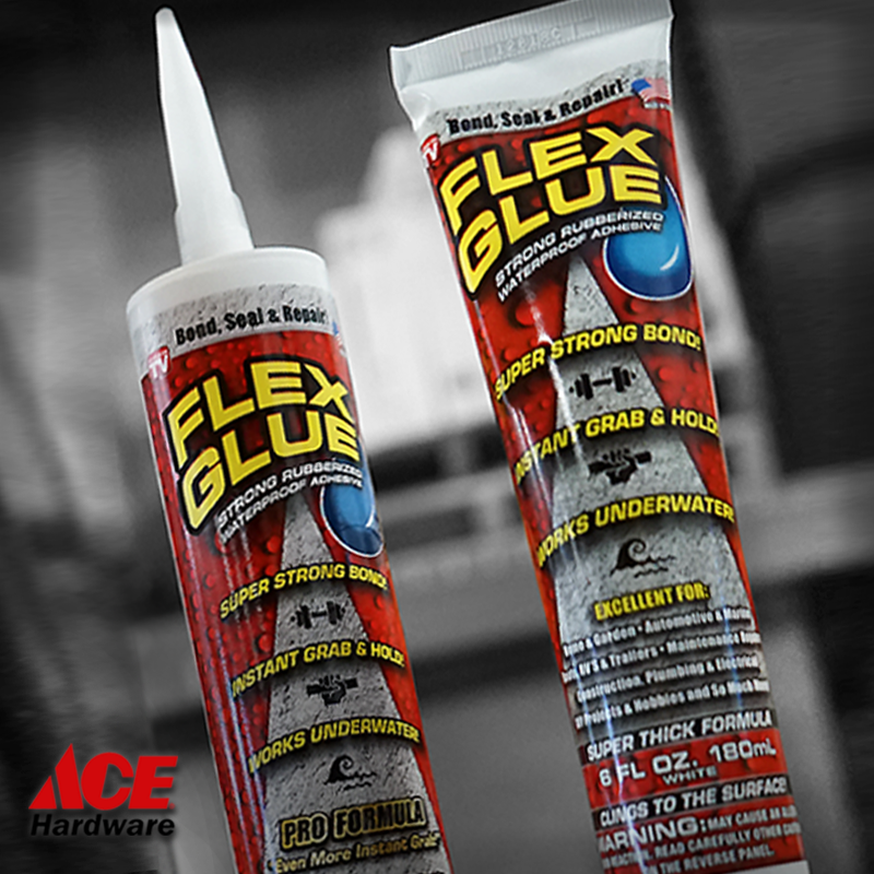 Get A Start On Instantly Bonding Sealing And Repairing Virtually Everything With Flex Glue Available At Ace Ha Diy Cleaning Solution Ace Hardware Phil Swift
