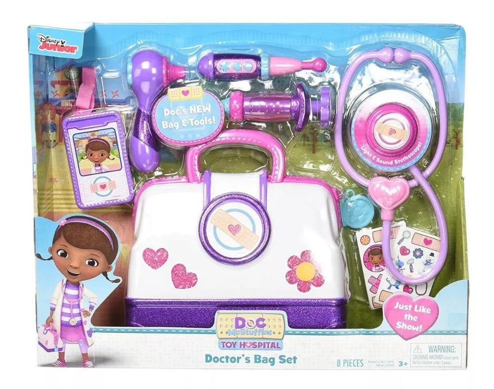 Maletin Doctora Juguetes Original Disney Entrega Ya 149 900 En Mercado Libre Juguetes Para Niñas Decoracion Doctora Juguetes Juguetes De Hello Kitty