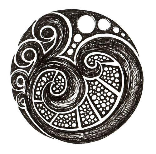 Maori Koru Tattoo: From Aplaceforart: Reminds Me Of The Maori Koru