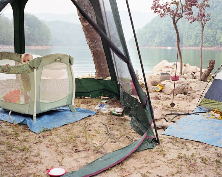 "John Lusk Hathaway Little Stony Creek, Watauga Lake, TN, 2011, from the series ""wild|life"""