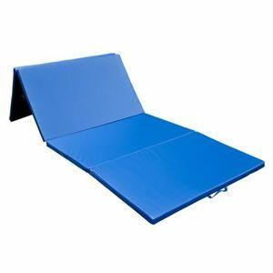 Tapis De Sol Gymnastique Natte De Gym Matelas Fitness Pliable Portable 10 Pieds Bleu 04 Avec Images Tapis De Sol