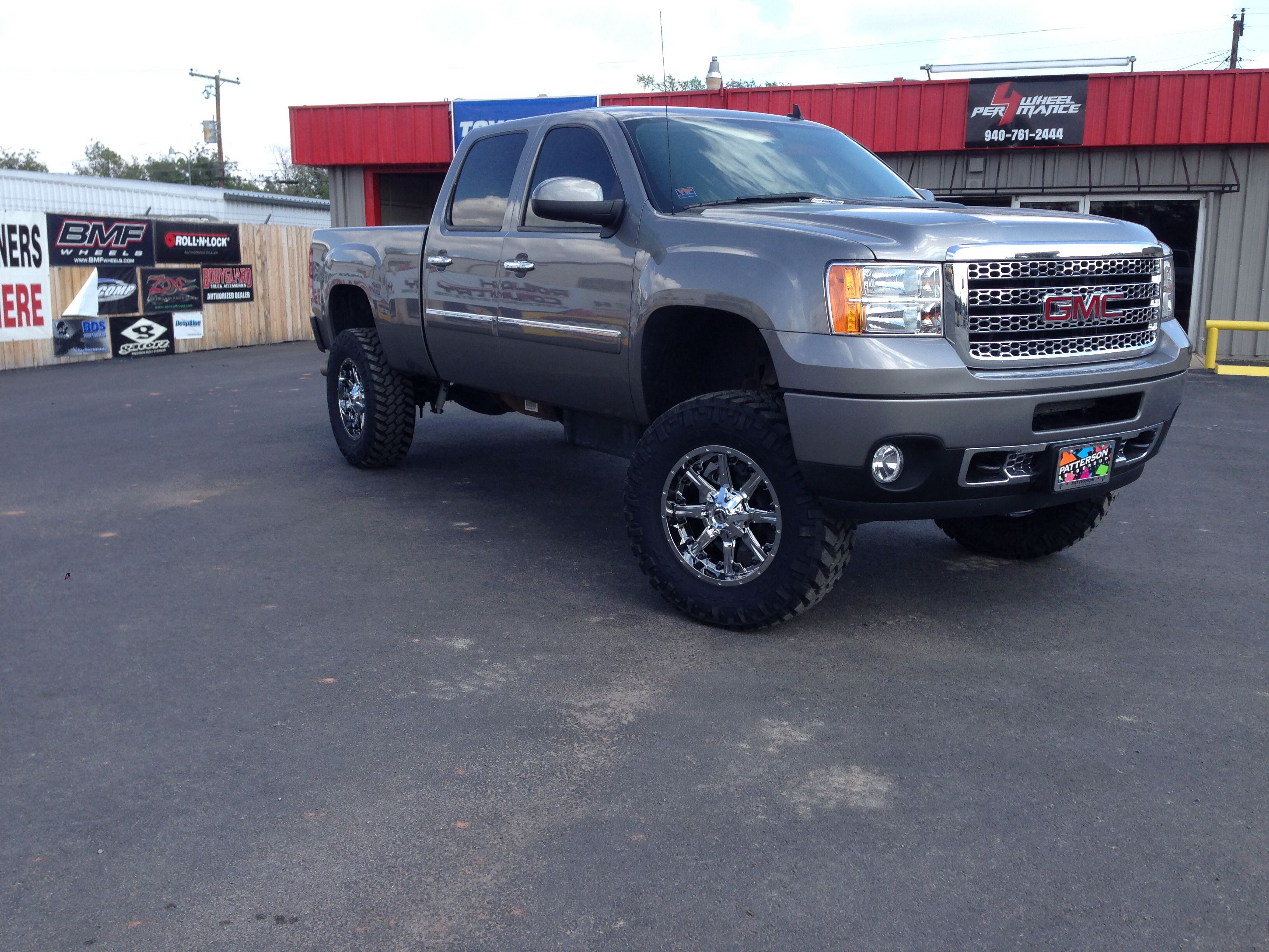 2013 gmc sierra 2500 hd 6 5 bds lift 20 fuel wheels nitto mts project photos. Black Bedroom Furniture Sets. Home Design Ideas