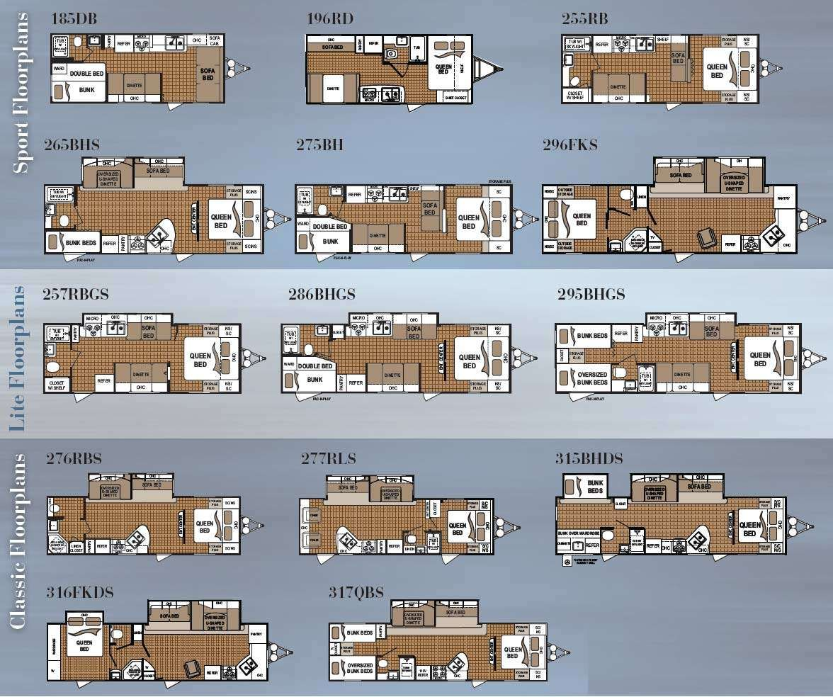 Komfort Travel Trailer Floor Plans Interior Design Dutchmen Dutchman Trends Inclu Travel Trailer Floor Plans Dutchmen Travel Trailers Fleetwood Travel Trailers