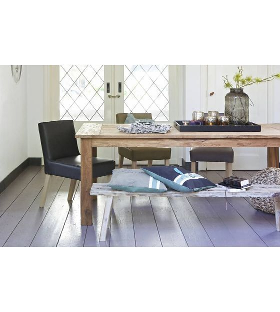 BePureHome Attitude Natural teak dining table 78x200x100cm - Wonen ...