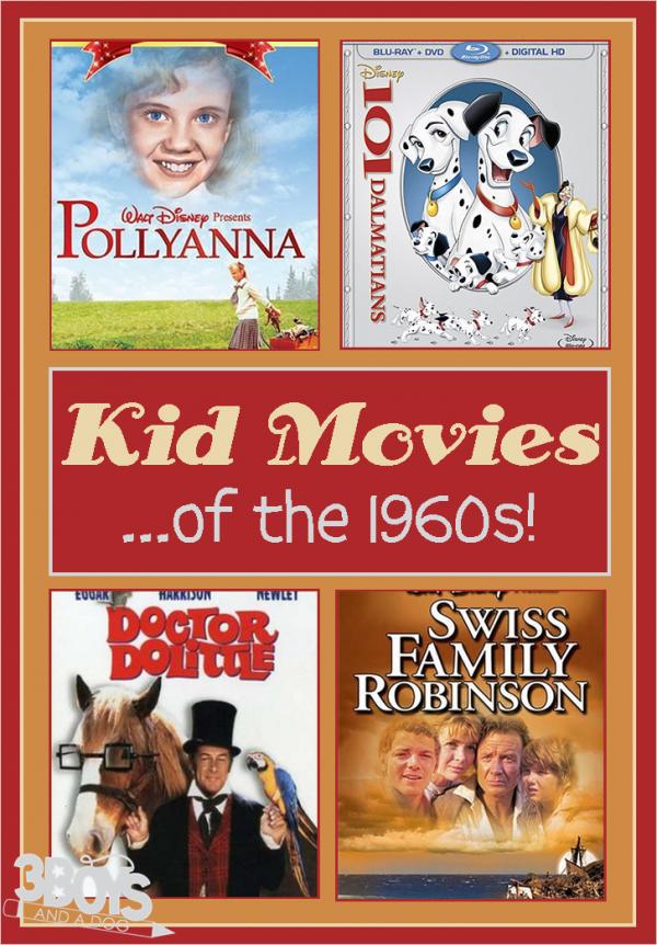 Kids Movies of the 1960s Kid movies, 1960s movies