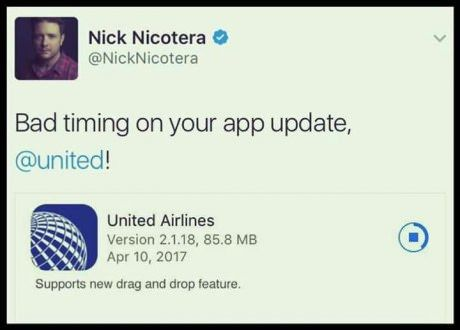 United Airlines Cool New Feature | funny stuff | United