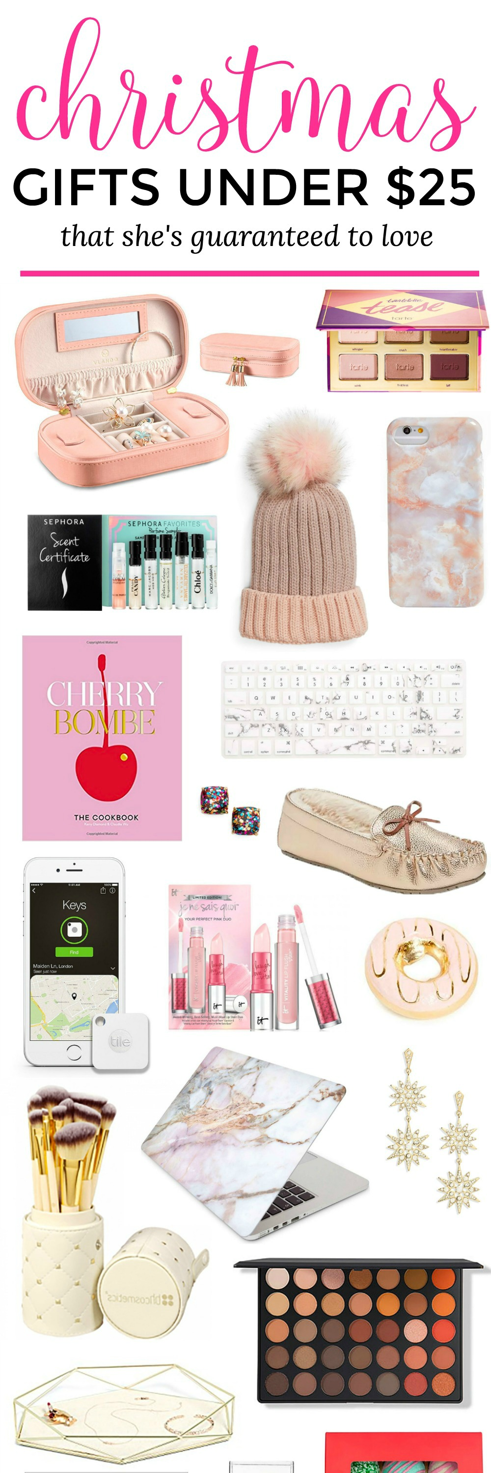 Womens christmas gift ideas under $25
