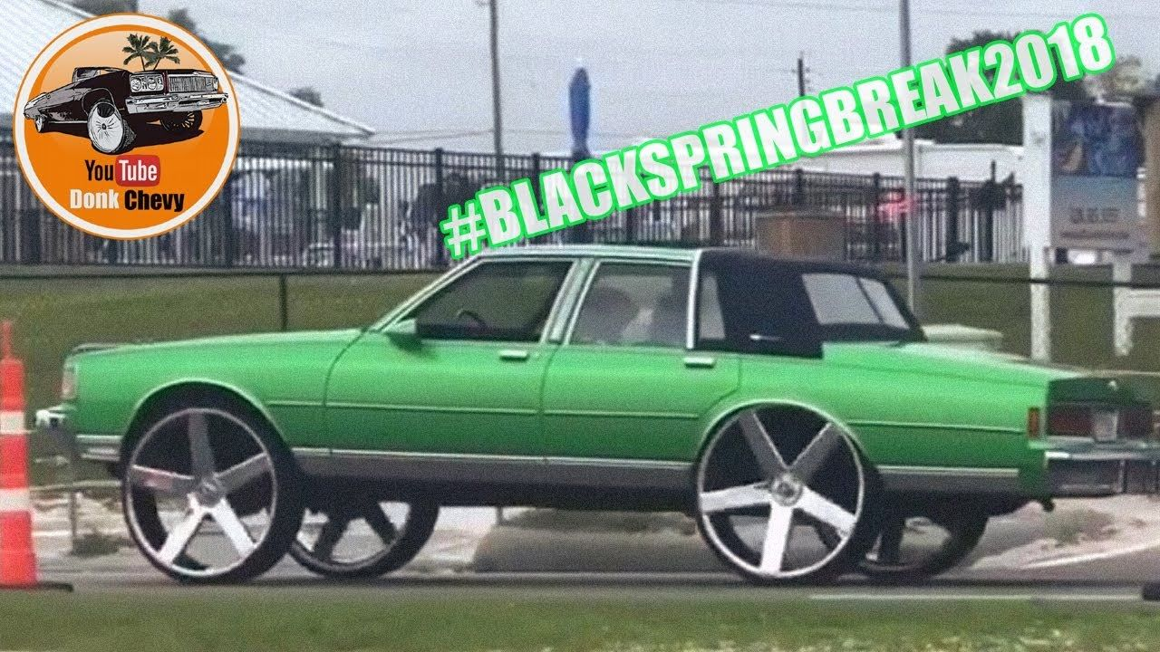Black Spring Break Donks Donkplanet Drod Chevy Squattin - Donk planet car show