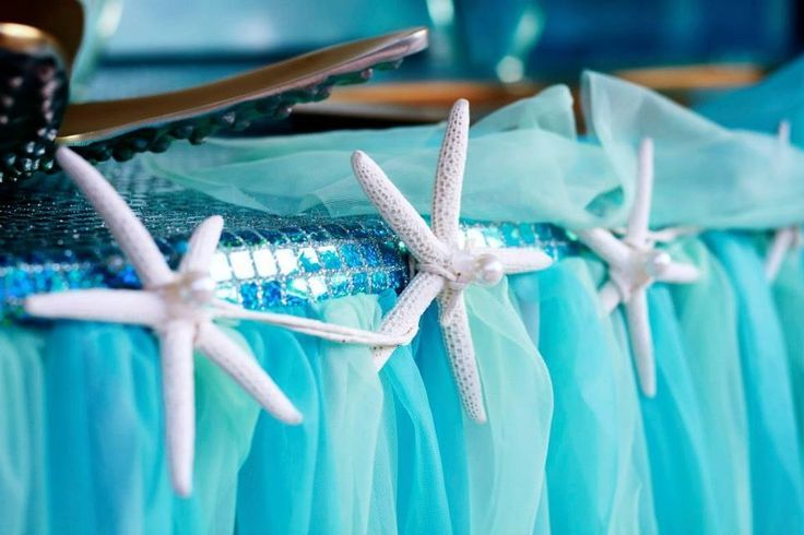 Under The Sea Table Decorations Gorgeous Under The Sea Table Set