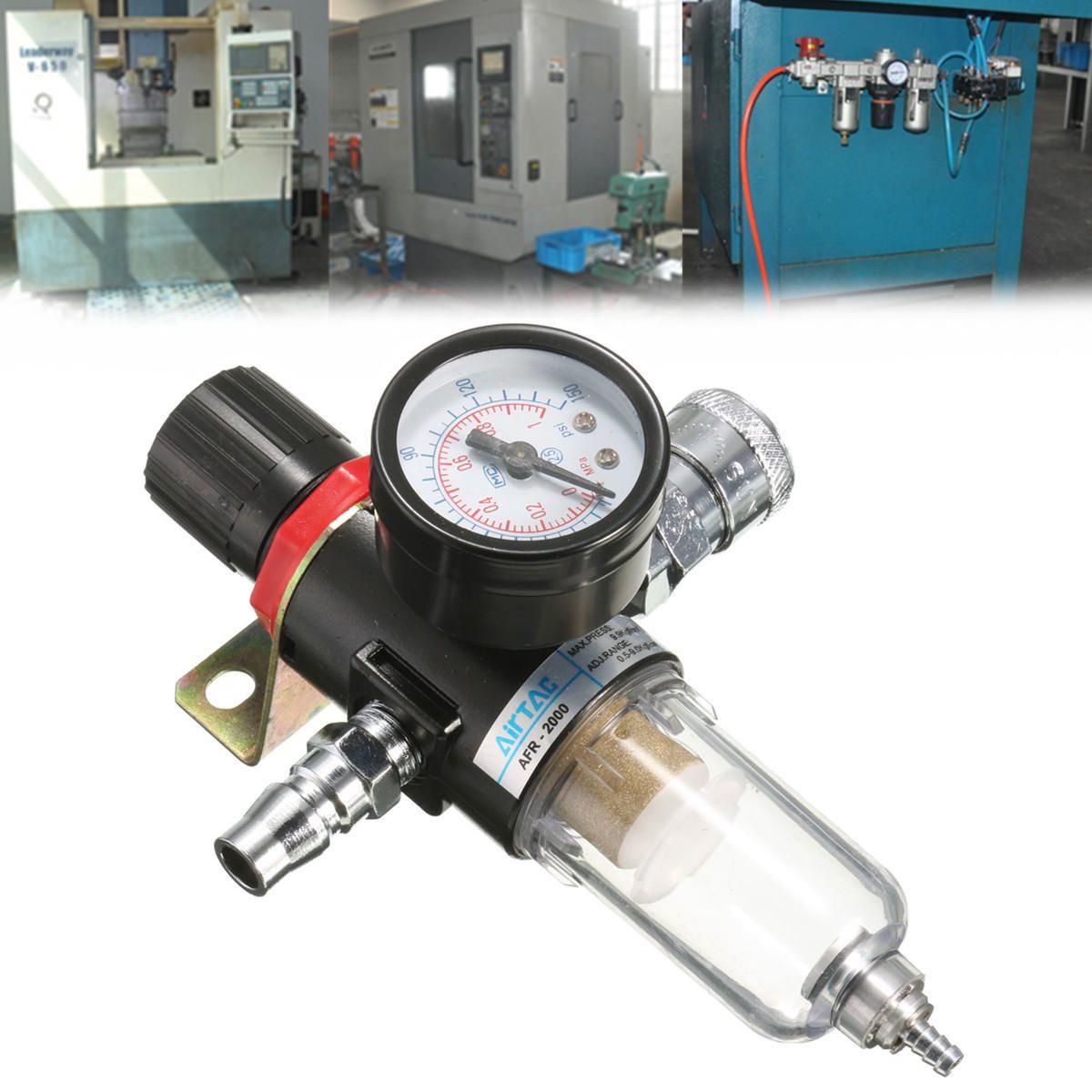 "AFR2000 1/4"" Air Compressor Filter Water Separator Trap"