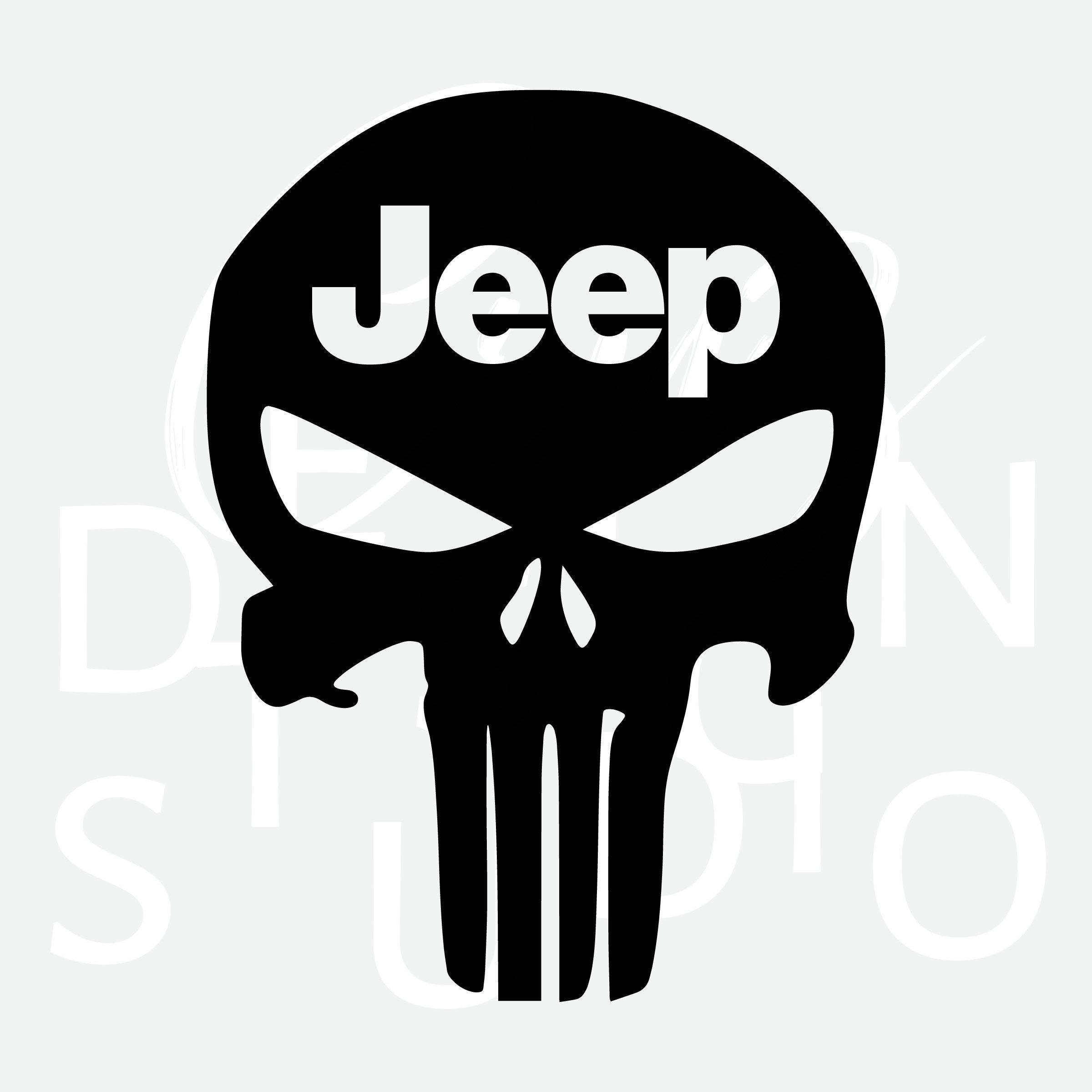 Pin by Alex Cruz on SVG Cricut, Jeep, Punisher