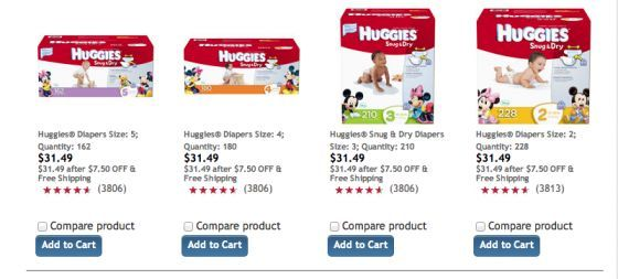 The Fun Cheap or Free Queen: CRAZY-good deal on diapers (and wipes) right now!