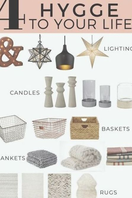 4 Easy Ways to Hygge Your Home in any season using simple decor items! #Hygge #cozydecor #neutraldecor #HomeDecorItems