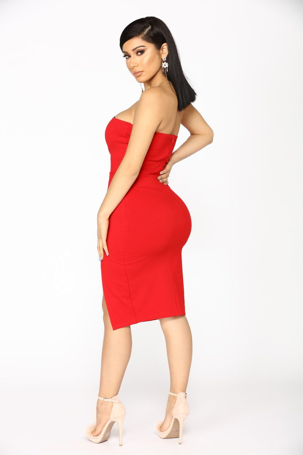 0d9306e320 Brady Tube Dress - Red
