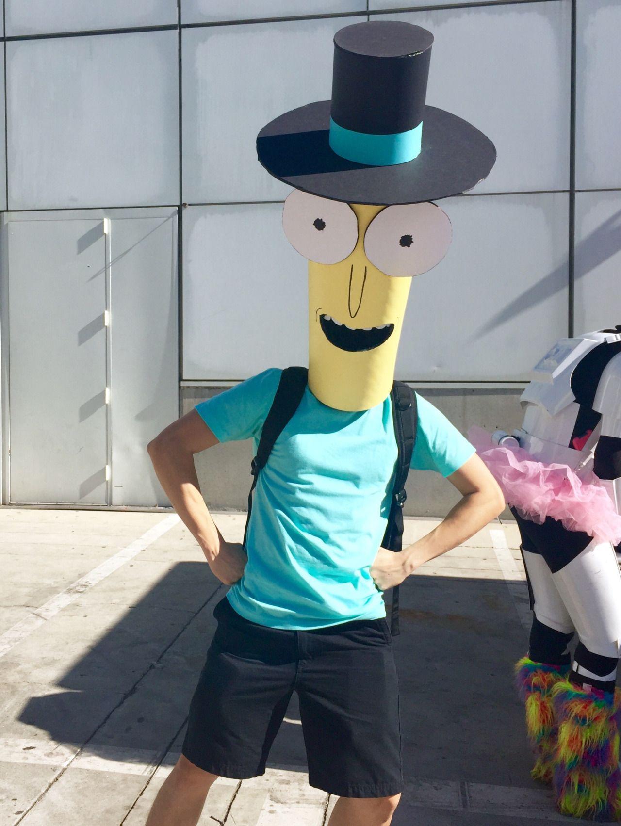 Adulto Rick y Morty Pickle Disfraz Hombre o Mujer Cosplay