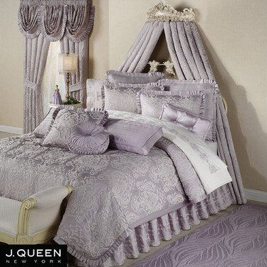 chateau lilac comforter bedding by j queen new york
