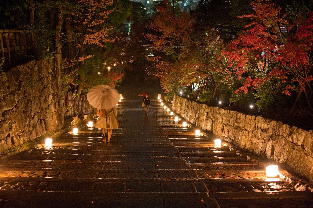 Charmant Seasonal Love...such A Pretty Lit Path For A Walk In The