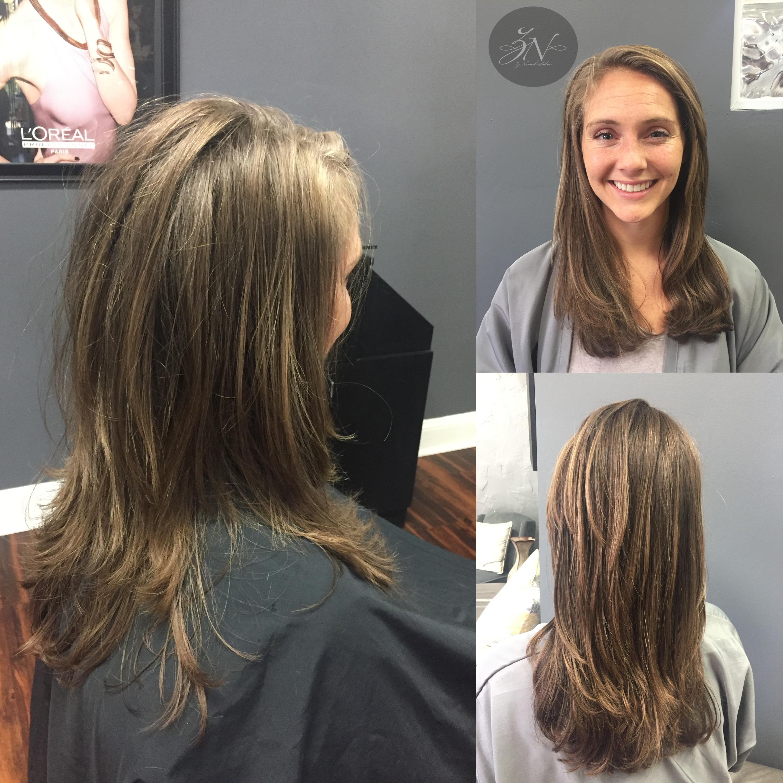 French Layered Haircut Znevaehsalon Haircut Knoxvilletn Salon