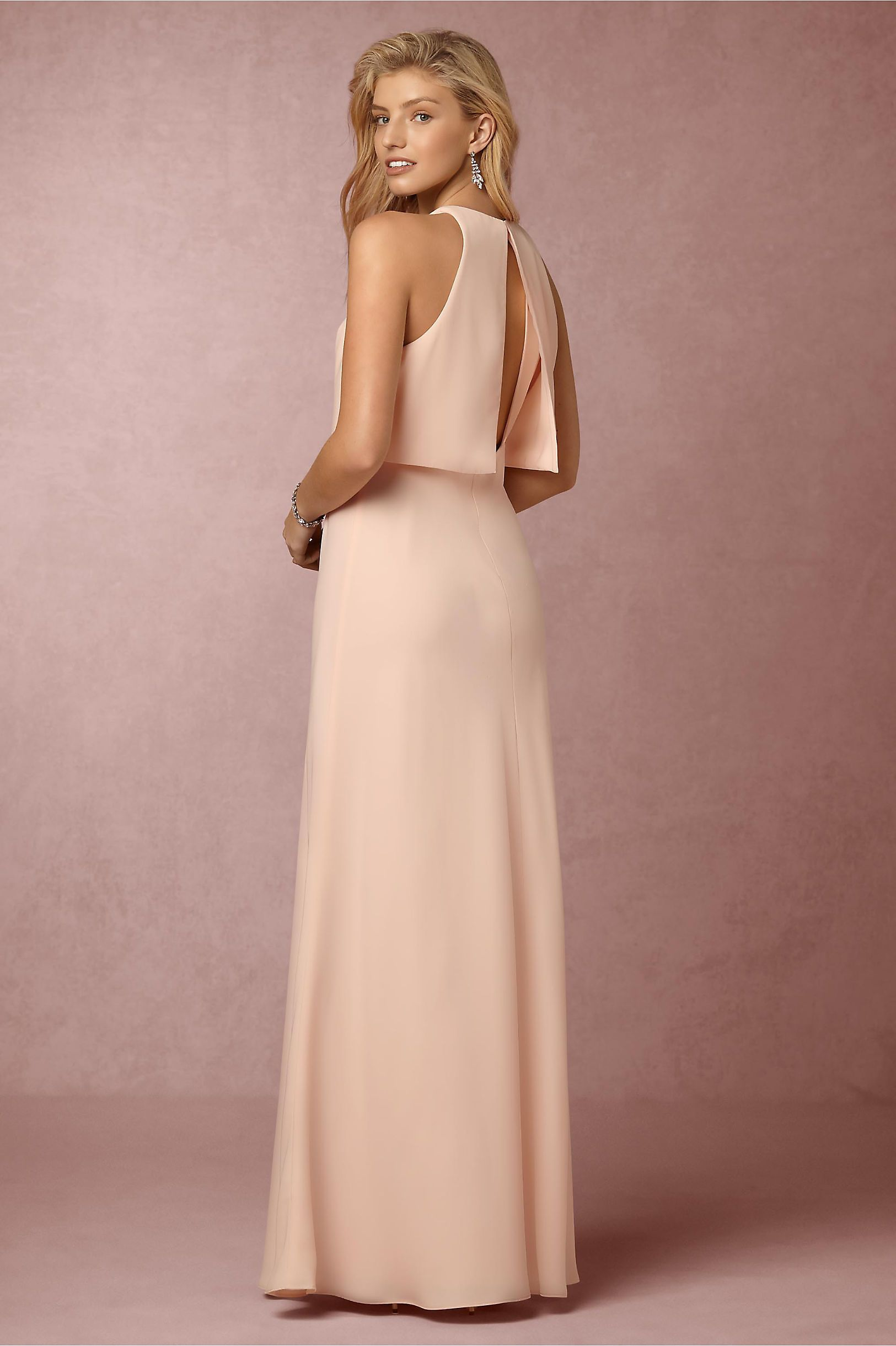 11808016c10 BHLDN Iva Crepe Maxi in Bridesmaids Maid of Honor Dresses