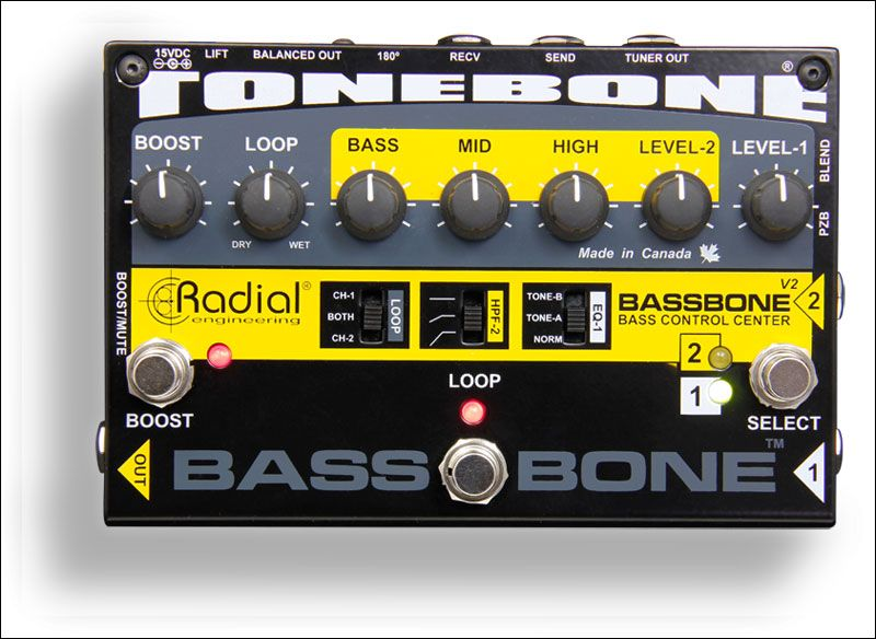 Tonebone Bassbone V2 Bass Preamp And Di Box Bass Bass Guitar Bass Guitar Tabs