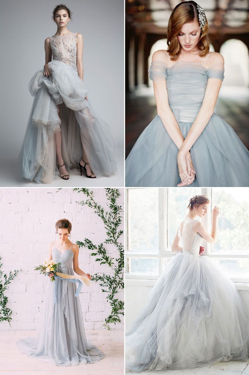 Tis' The Season To Get Colorful! 26 Gorgeous Colored Gowns for Winter Weddings!