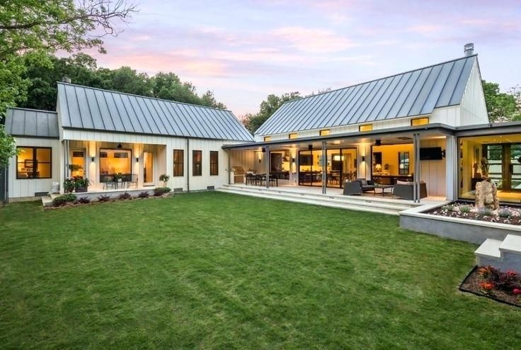 Architectures Projet Pi Barn Style House Modern Barn House House Exterior