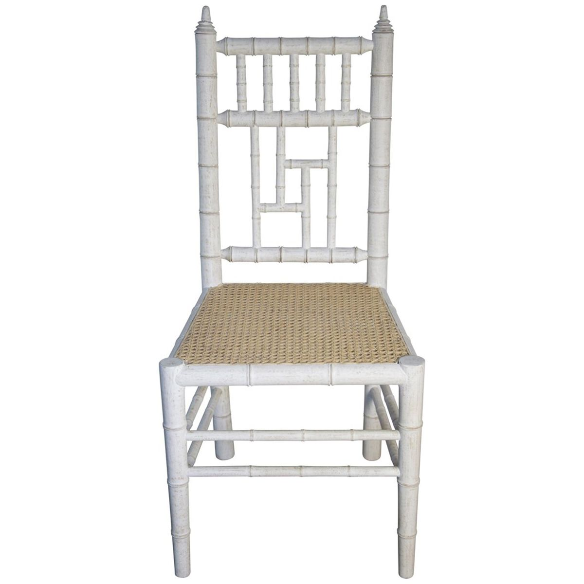 Noir Hollywood Chair, White Wash GCHA121WH