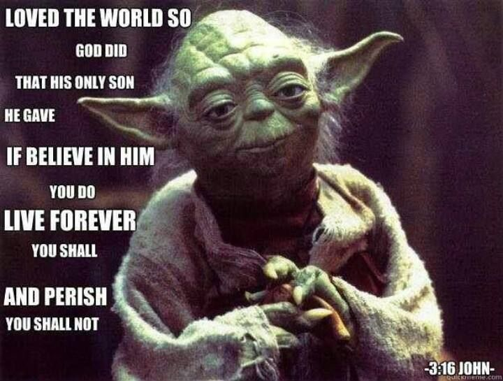 Star Wars Bible New Yoda Version Science Fiction Pinterest
