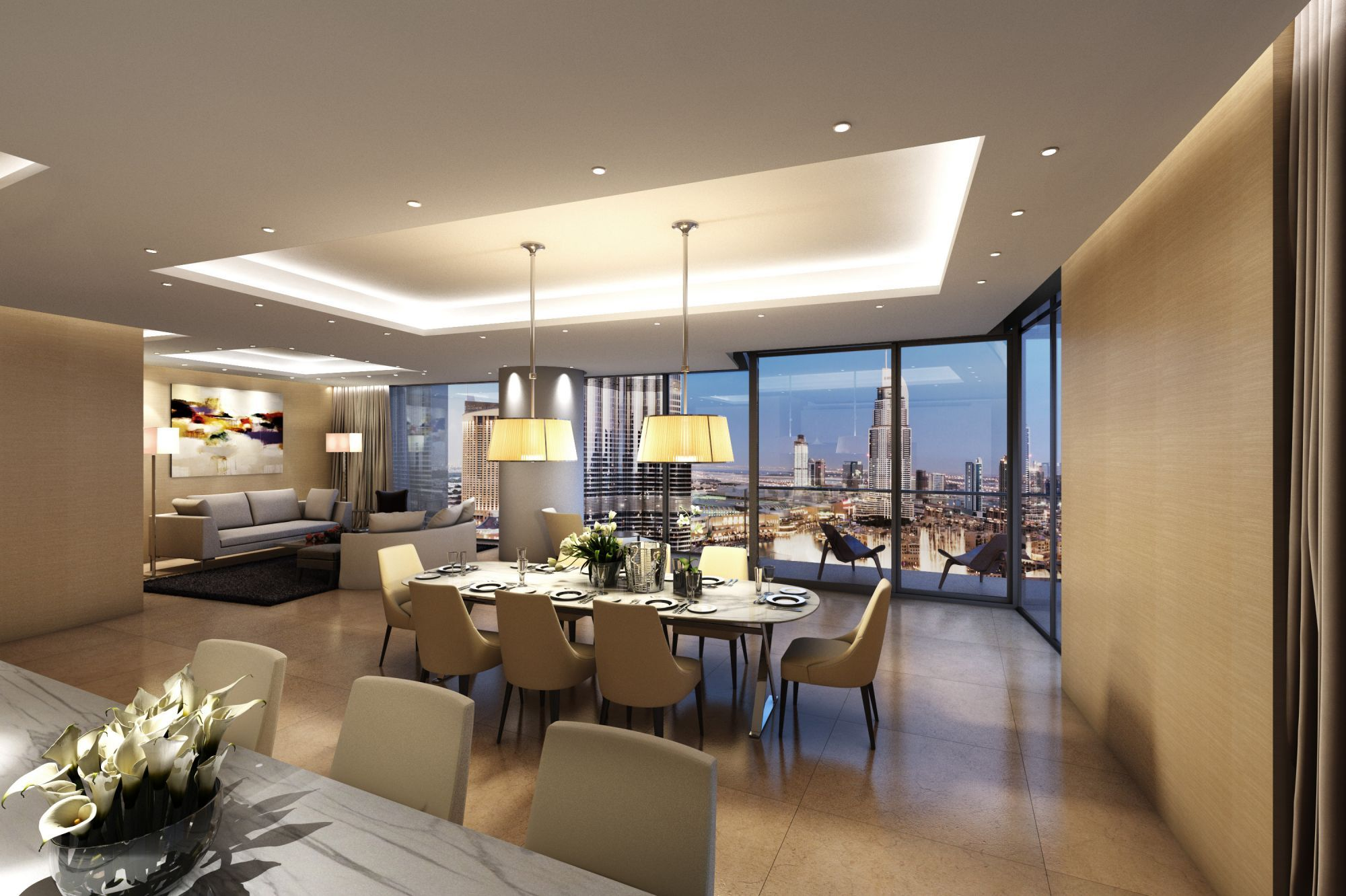 CGarchitect - Professional 3D Architectural Visualization User Community | Interior  Apartment Dubai. KPF architects