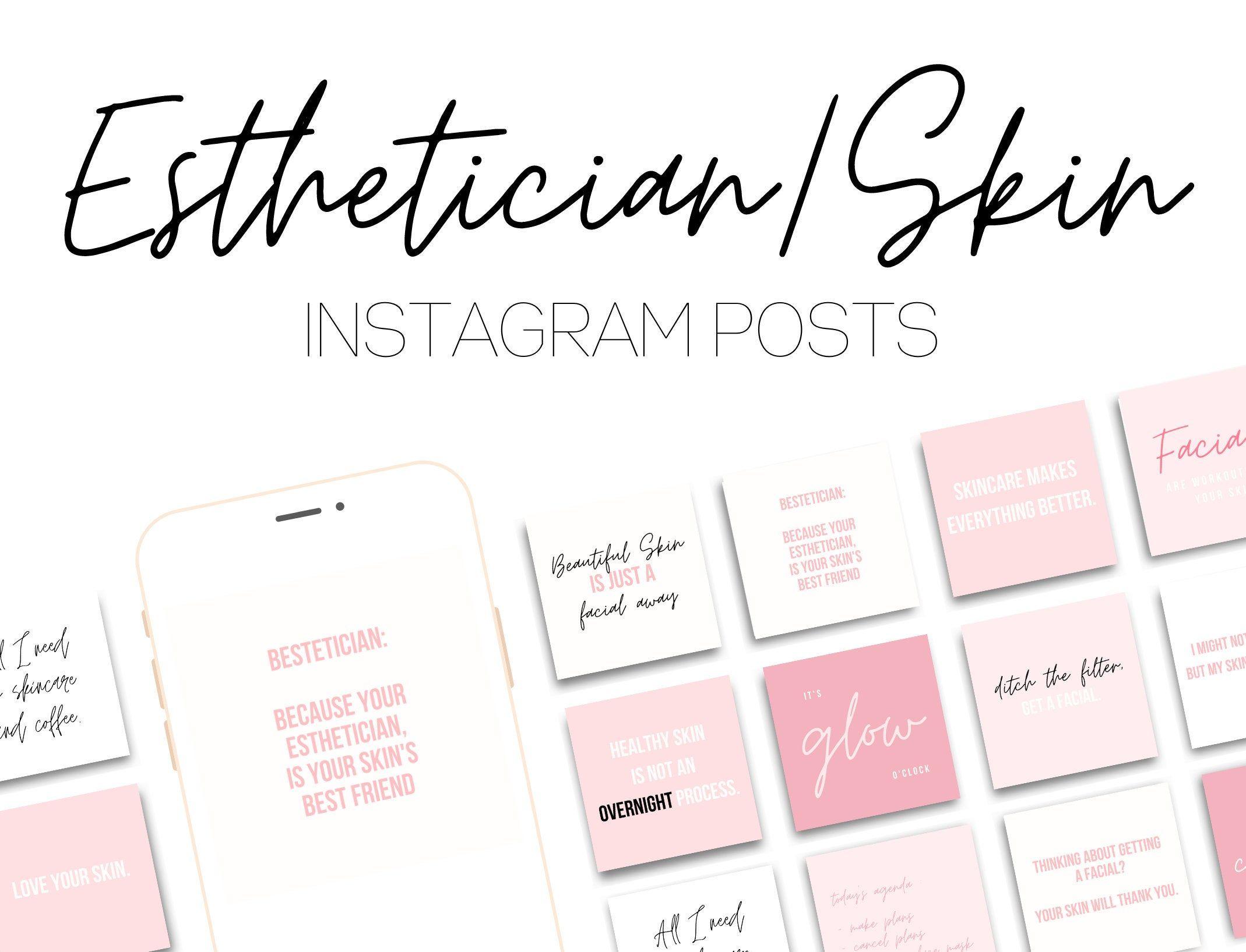 25 Esthetician Instagram Posts Skincare Instagram Posts