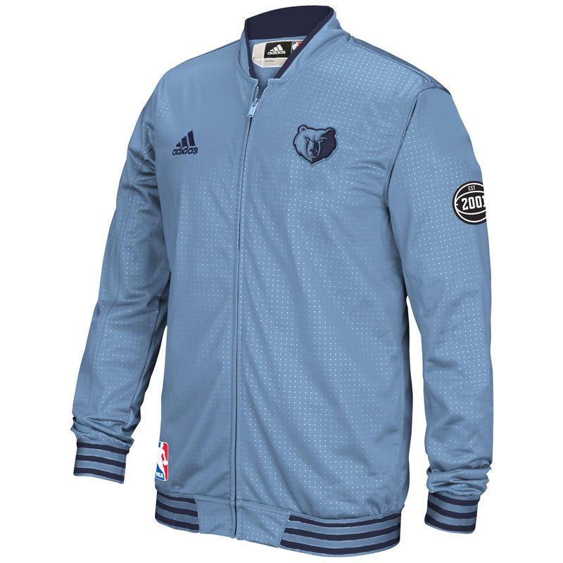 Memphis Grizzlies adidas OnCourt WarmUp Jacket Light