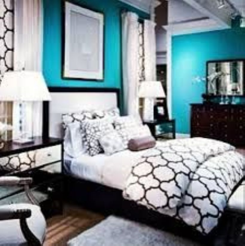 50 Best Bedroom Design With White and Black Color images