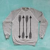 Image of STRAIGHT SHOOTER Sweater [grey]