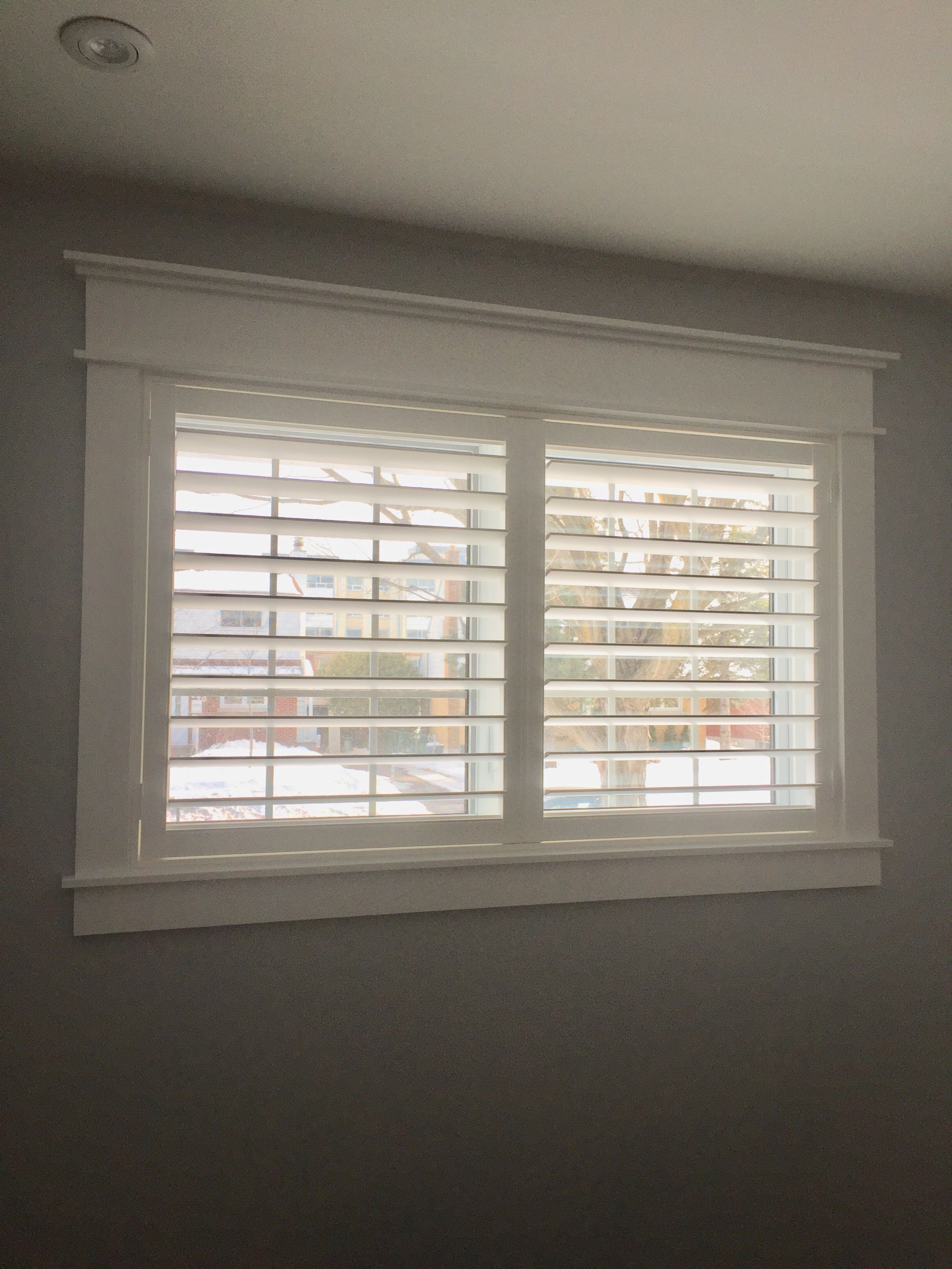 Eetkamer Eclipse Diy Modern Craftsman Window Trim And Eclipse Shutters Huis