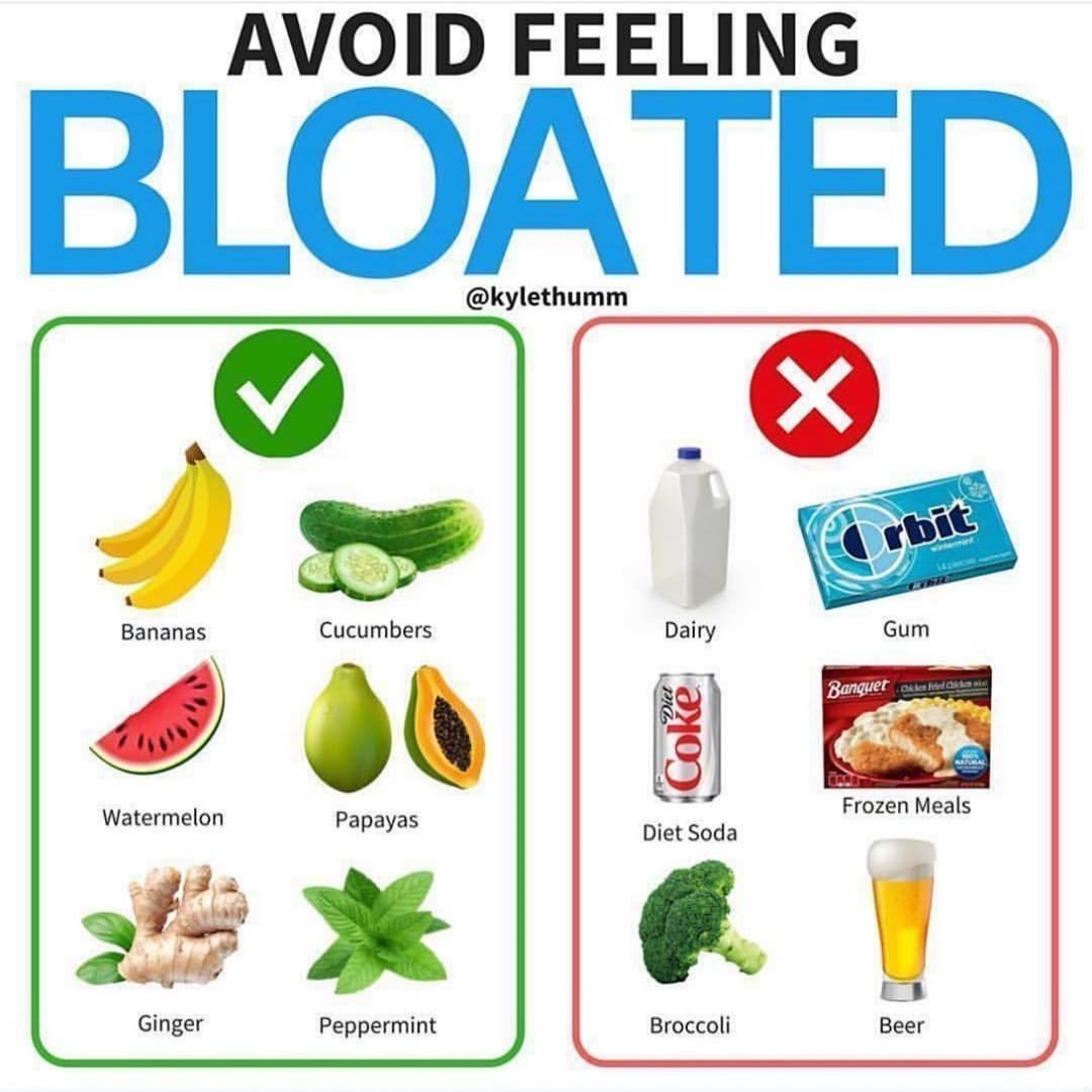 Avoid Feeling Bloated With These Tips Follow